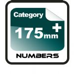 175mm+ Race Numbers